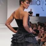 Kerstin Linnartz - Fashionshow von Julia Starp anl‰sslich der Mercedes-Benz FashionWeek Spring/Summer 2012 im Kosmos in Berlin am 07.07.2011.  Credit : D.Zmeck / EF54